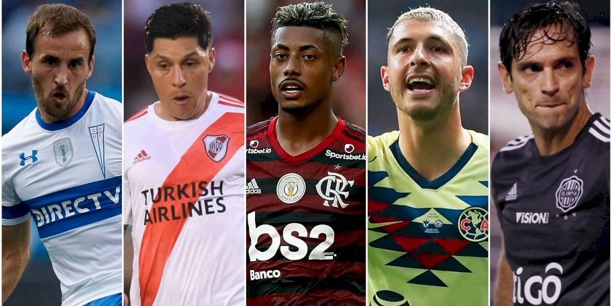 Fuenzalida, Pérez, Bruno Henrique y más: Los mejores de cada país de América en la temporada 2019