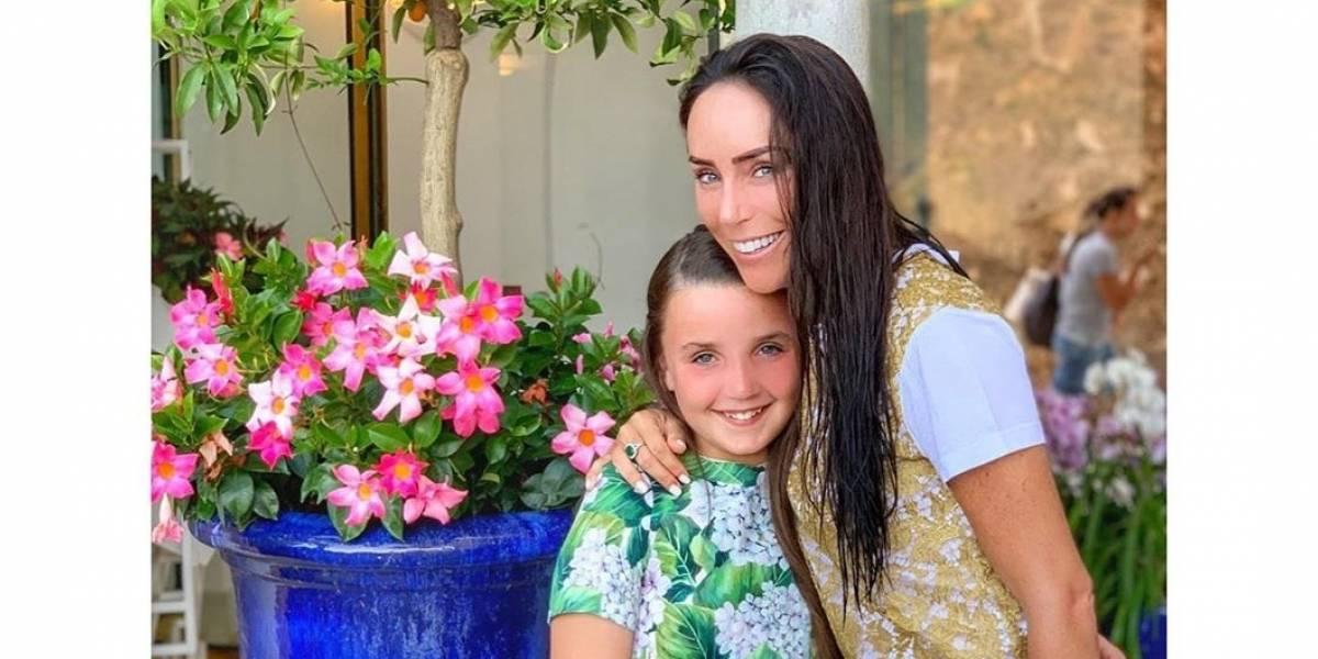 Te conmoverás con la sorpresa que le dio la hija de Inés Gómez Mont a su esposo