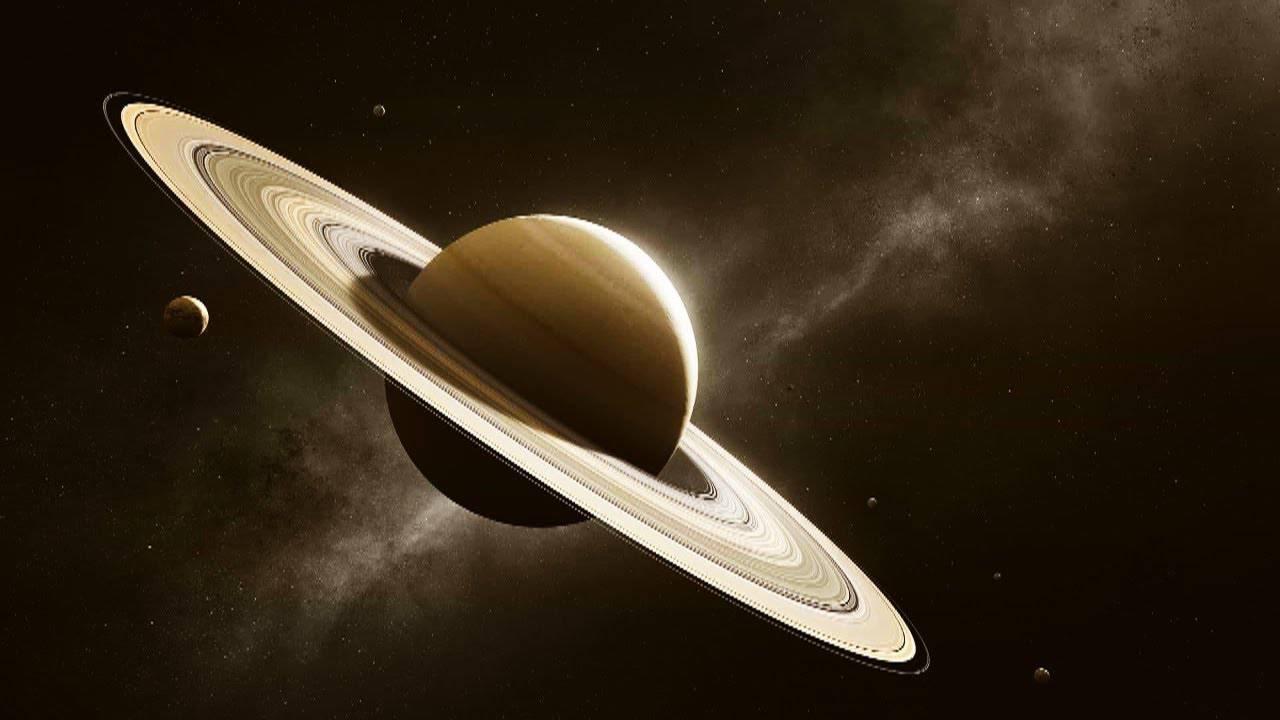 Saturno espacio