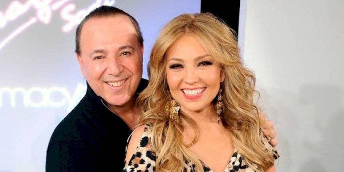 Video de momento íntimo de Thalía se hace viral luego que su esposo lo publicara en redes sociales