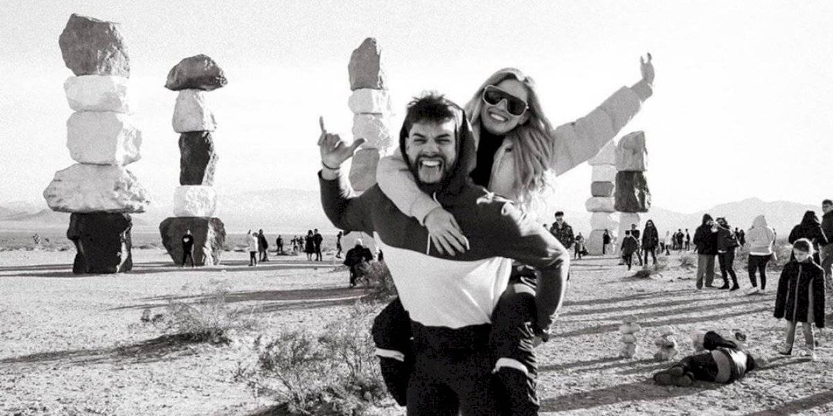 Natalia Rivera y Francis Torres despiden el año juntos en Las Vegas