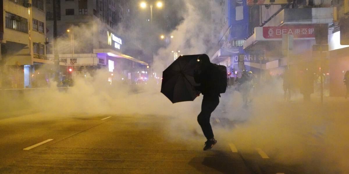 Hong Kong marcha el primer día del año: Movimiento prodemocrático ya comenzó a manifestarse después de un 2019 movilizado