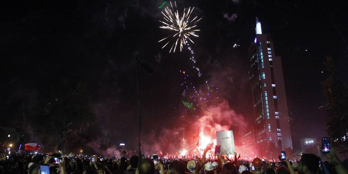 """""""Año Nuevo con dignidad"""" fue una gran fiesta que conmemoró el último feriado del año en Plaza de la Dignidad"""