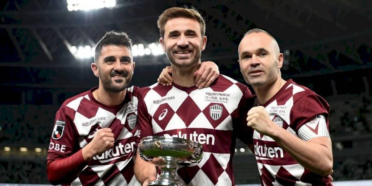 David Villa se retiró a lo grande con título de la Copa Emperador junto al Vissel Kobe