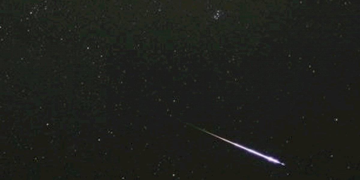 Lluvia de meteoros será visible este viernes