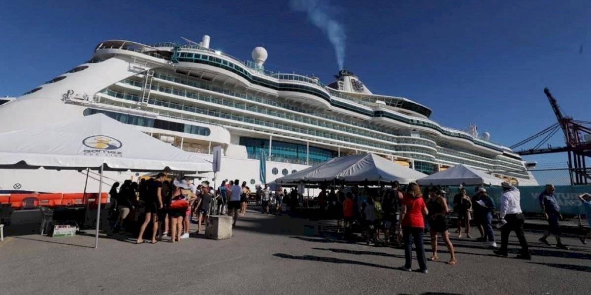 Atraca en Ponce el primer crucero del 2020