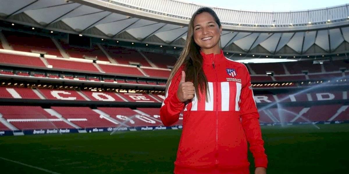 Atlético de Madrid da un golpe al mercado del fútbol femenino y anuncia a Deyna Castellanos