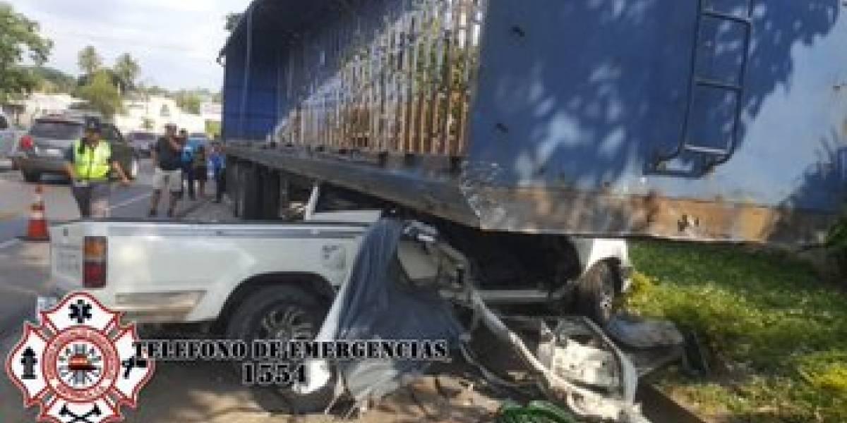 Al menos 26 heridos y tres muertos por accidentes de tránsito