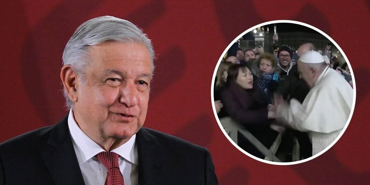 Me dio gusto que el papa Francisco ofreciera disculpas: López Obrador