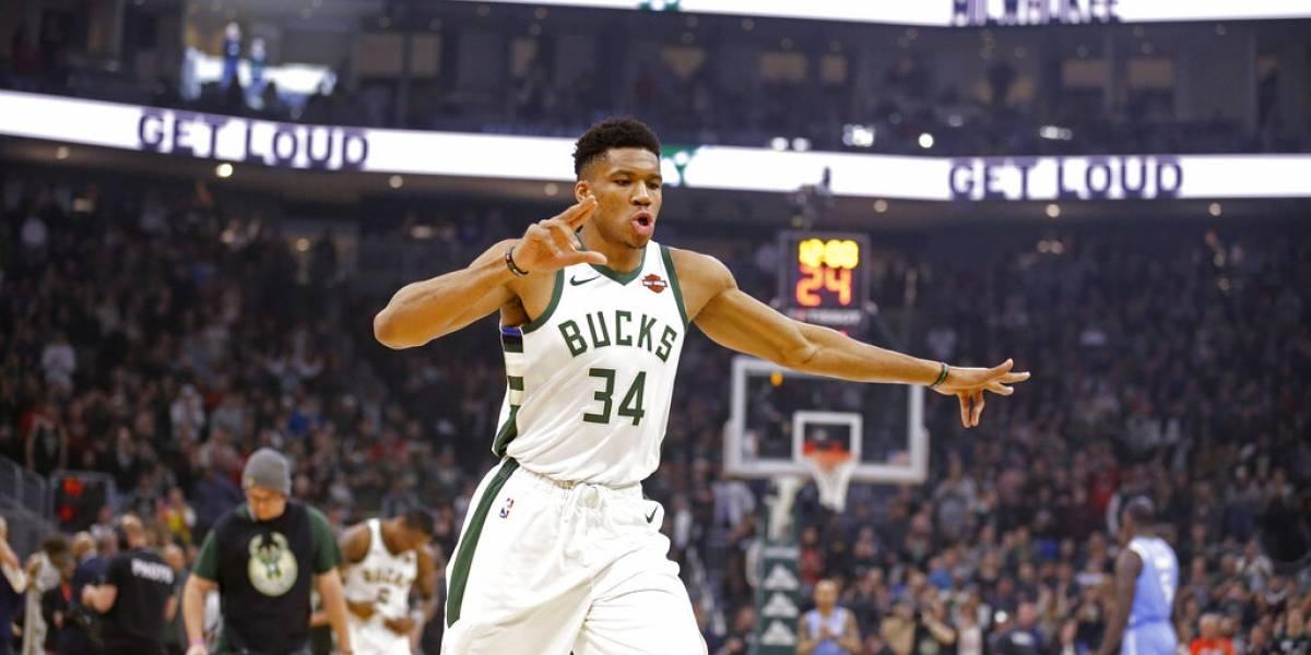 NBA: Giannis Antetokounmpo vuelve a brillar en triunfo de Bucks sobre Timberwolves