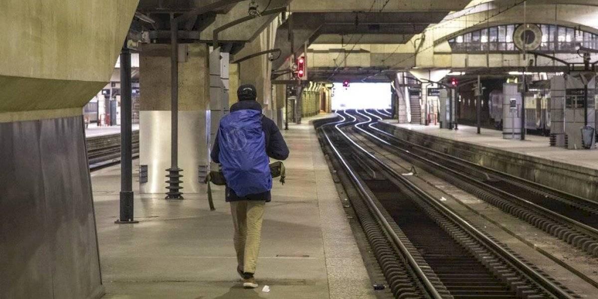 Huelga de trenes en Francia bate récord en 29no día de paros