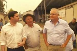 Australia incendios primera ministro