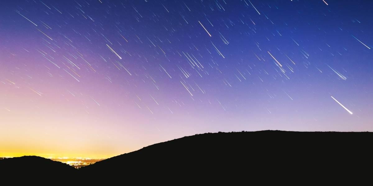 Chuva de meteoros acontece amanhã; veja como observar as estrelas cadentes