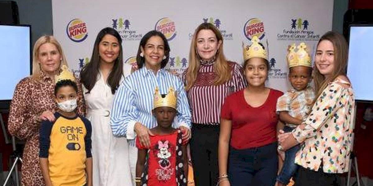 #TeVimosEn: Burger King firma alianza con la Fundación Amigos contra el Cáncer Infantil (FACCI)