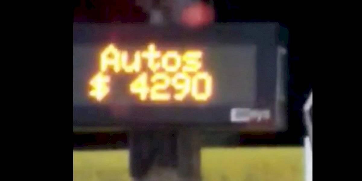 Los bocinazos se hicieron sentir en el peaje más caro de Chile: conductores protestan por nueva alza en Autopista del Itata