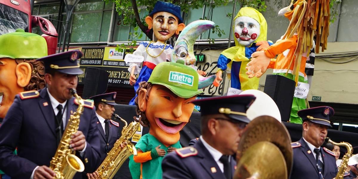 Éxito y lleno total del Festival de Años Viejos 2019 en la Av. Amazonas