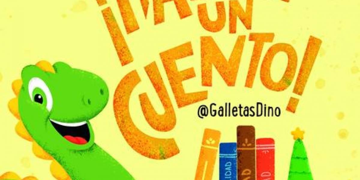 """Galletas Dino muestra su regalo de navidad """"Hazme un Cuento"""""""