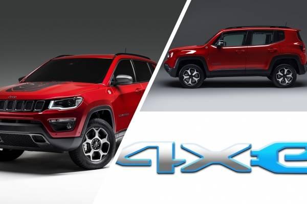 4xe Asi Distinguiremos A Los Hibridos Enchufables De Jeep
