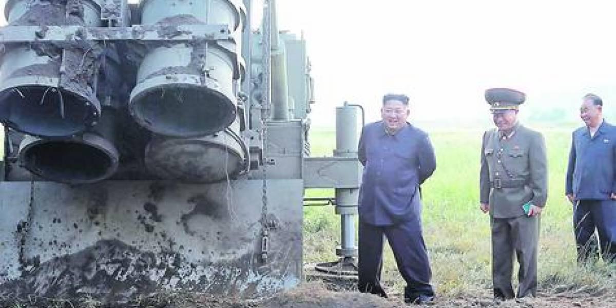 """Kim Jong Un amenaza con  una nueva """"arma estratégica"""""""