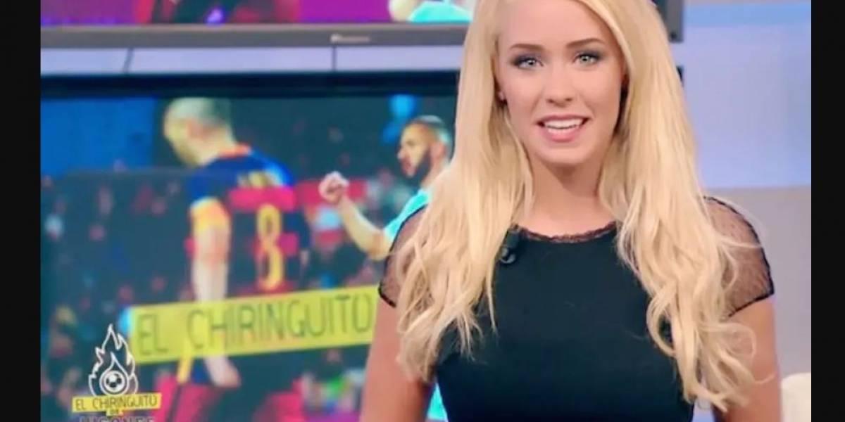 Periodista deportiva sorprende a sus seguidores al posar en topless