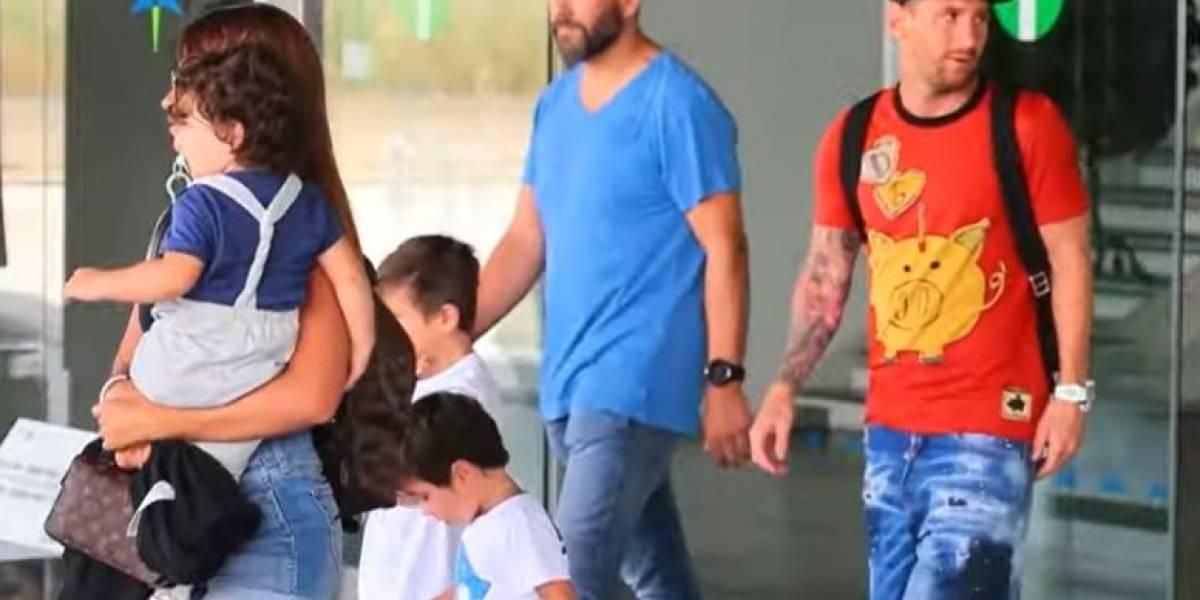 VIDEO. Lionel Messi regresa de vacaciones y se incorpora a los entrenamientos del Barcelona