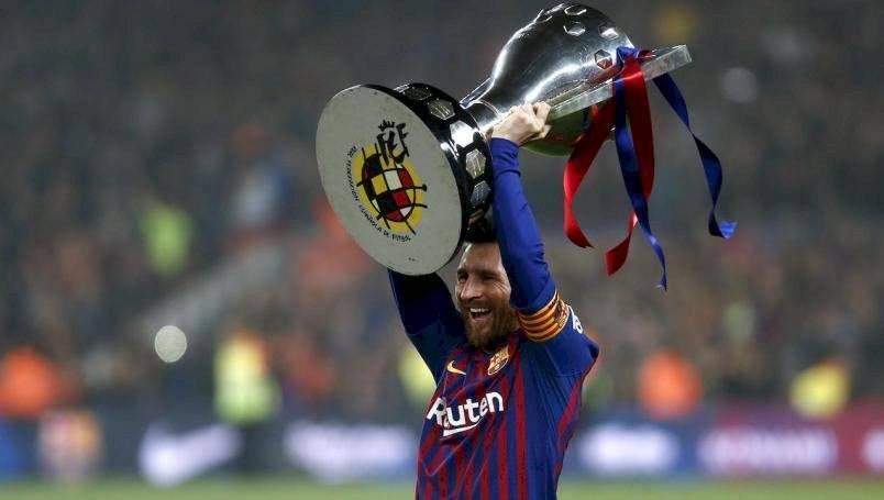 Messi campeón de la Liga