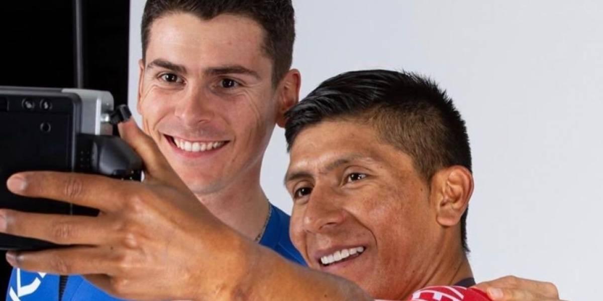 Nairo Quintana posó con el uniforme de su nuevo equipo para 2020 e hizo un llamativo mensaje