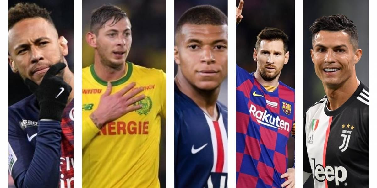 Los futbolistas que fueron los más buscados en Google durante el 2019
