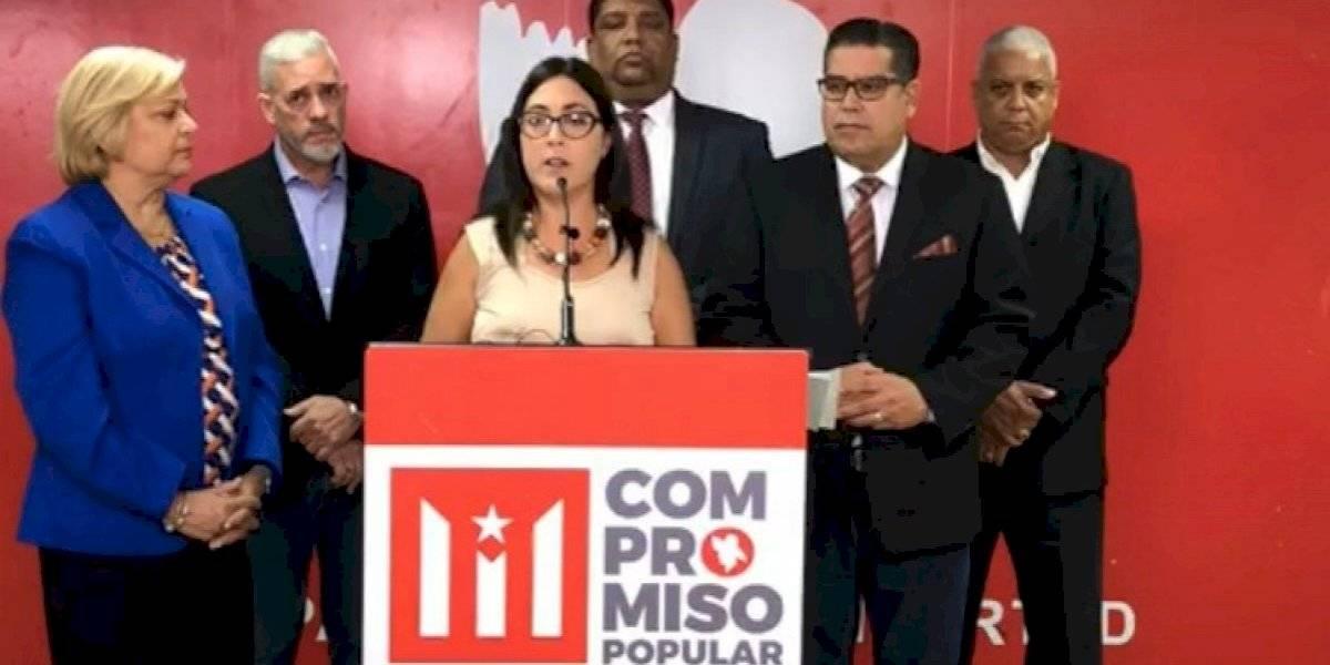 Candidatos PPD a la Cámara prometen no bajarán medidas por descargue