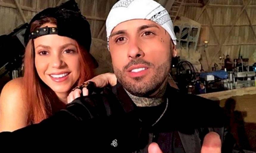 Shakira y Nicky Jam Internet