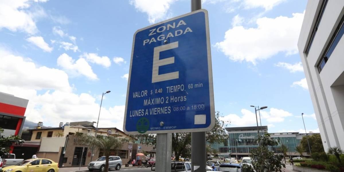 Esta es la multa por mal uso de Zona Azul en Quito para el 2020