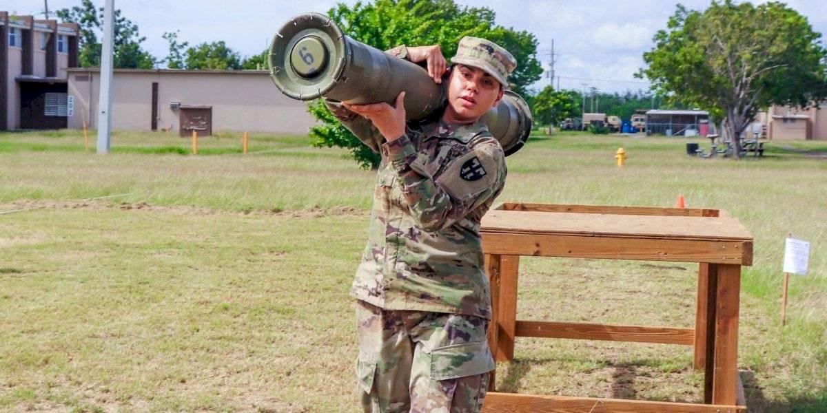Primeras mujeres en especialidad de Infantería en Guardia Nacional de P. R.