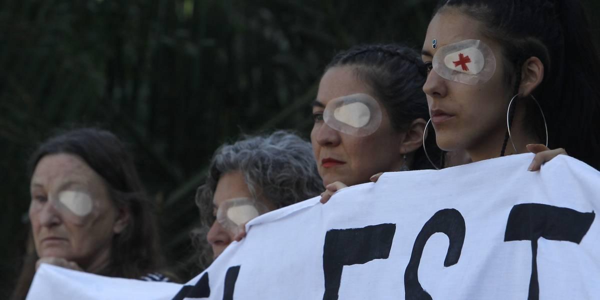"""Madre de joven que perdió visión de ojo por impacto de lacrimógena: """"Quiero dirigirme a usted, señor Presidente. Basta, basta"""""""