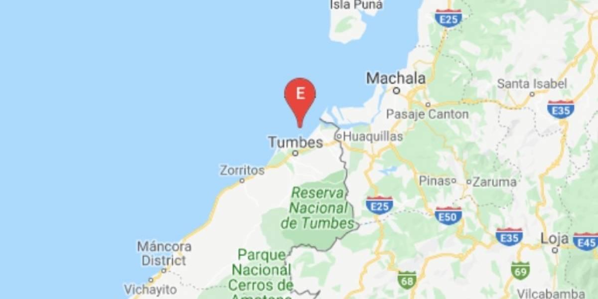 Sismo de 5.1 se reporto este 3 de enero en Huaquillas, El Oro