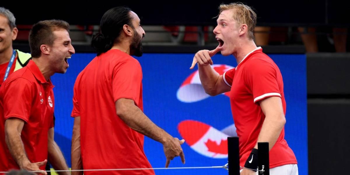 Canadá arrasó y Estados Unidos sufrió un duro traspié en el arranque de la ATP Cup 2020