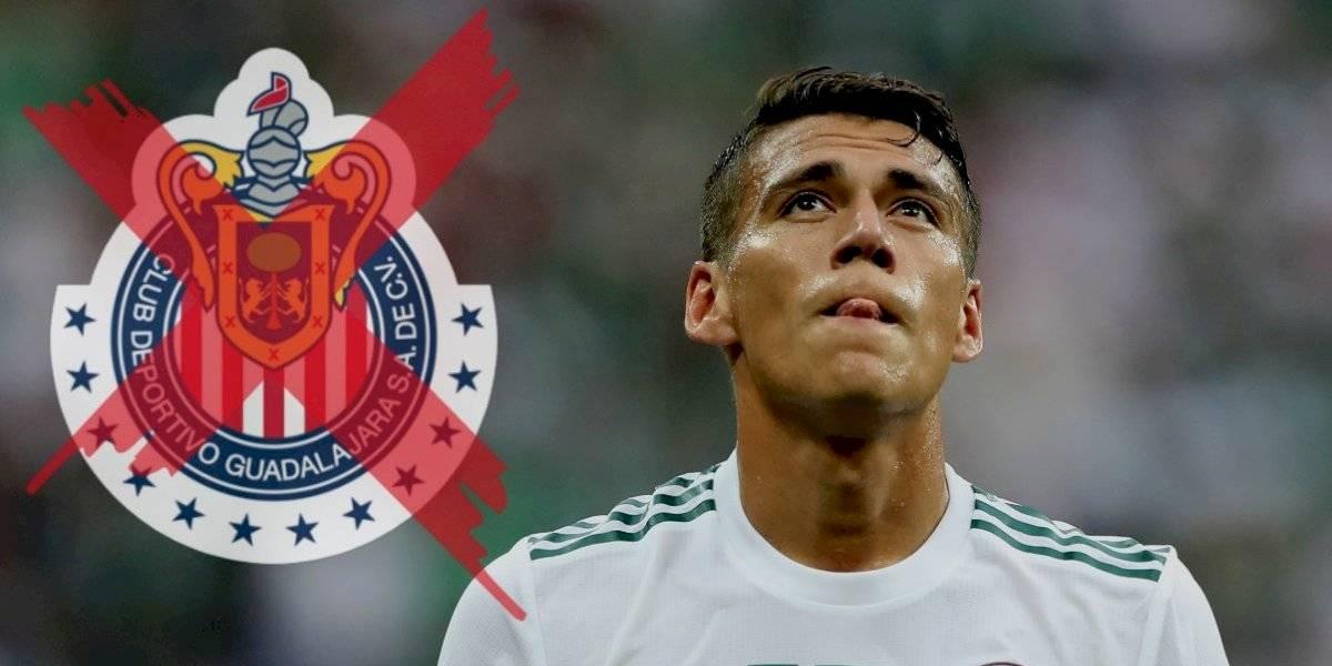 Héctor Moreno le dice 'no' a Chivas
