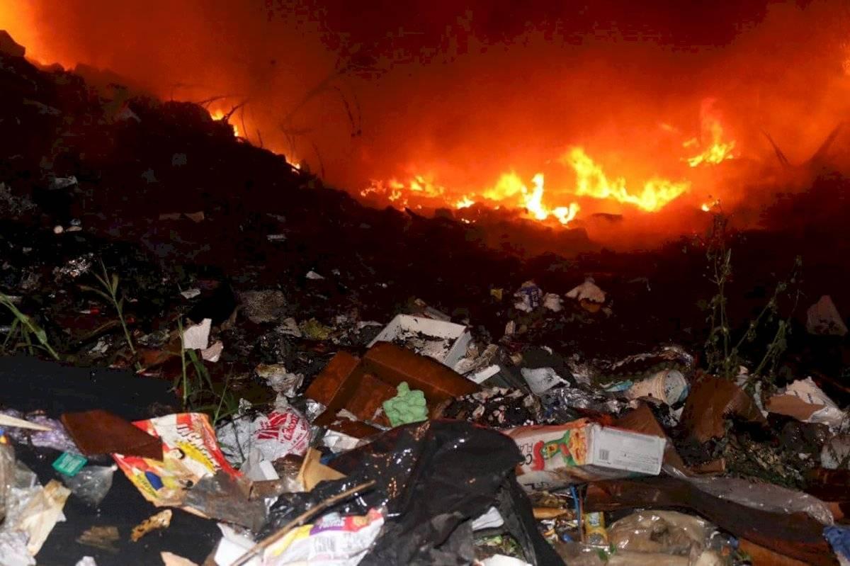 incendio en Tierra Nueva 2, Chinautla