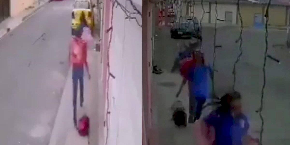 Ladrones se hacen pasar por repartidores de comida rápida