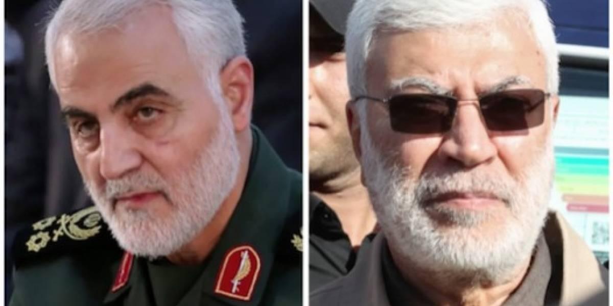 VIDEO. ¿Quiénes eran Qasem Soleimani y Abu Mehdi Al Muhandis, enemigos número uno de EEUU?