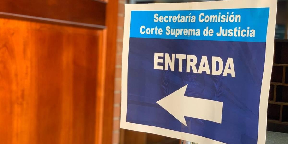 Comienza plazo para que aspirante a la CSJ se postulen ante la comisión