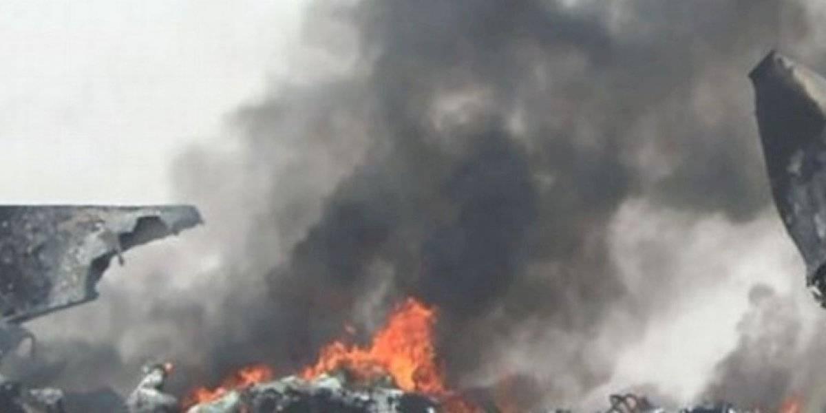 Avión militar sudanés se estrella en Darfur