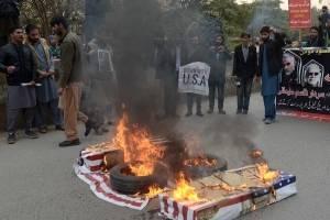 Protestas por la muerte de Soleimaní