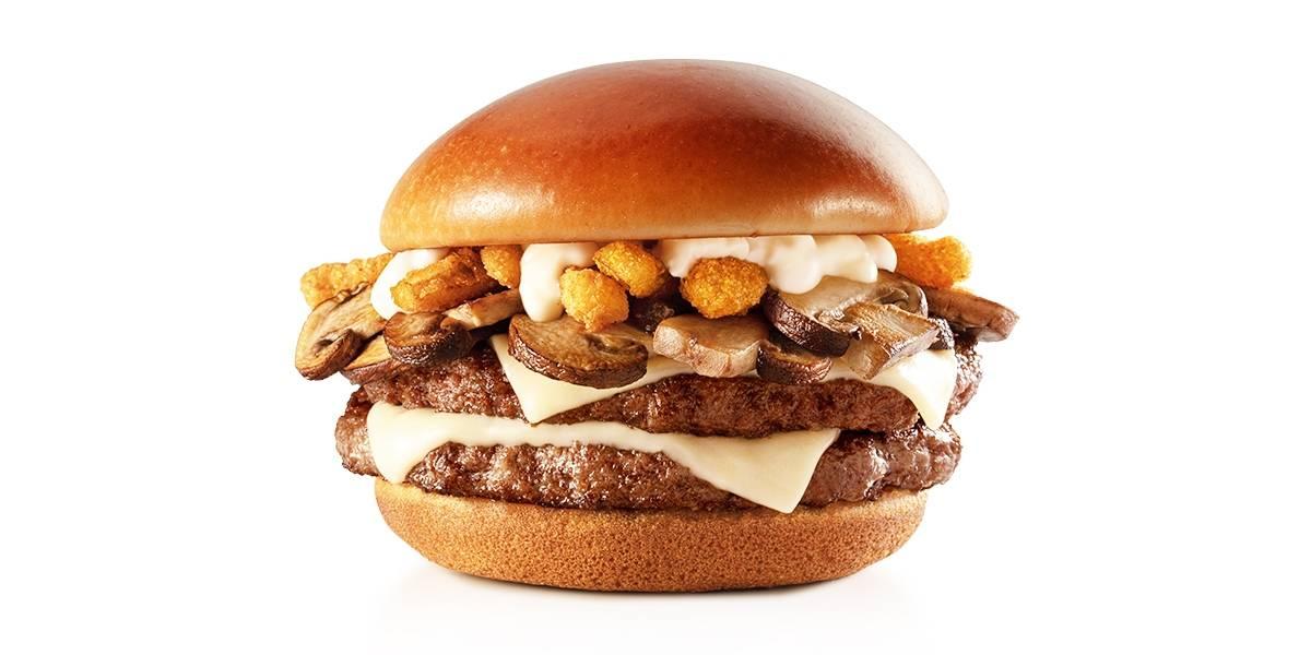 McDonald's presenta la nueva hamburguesa Mushroom Deluxe