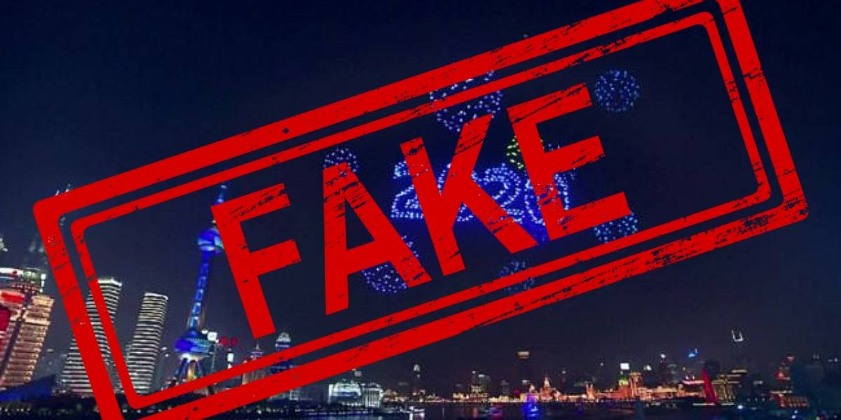 China: Show de drones en año nuevo fue pregrabado