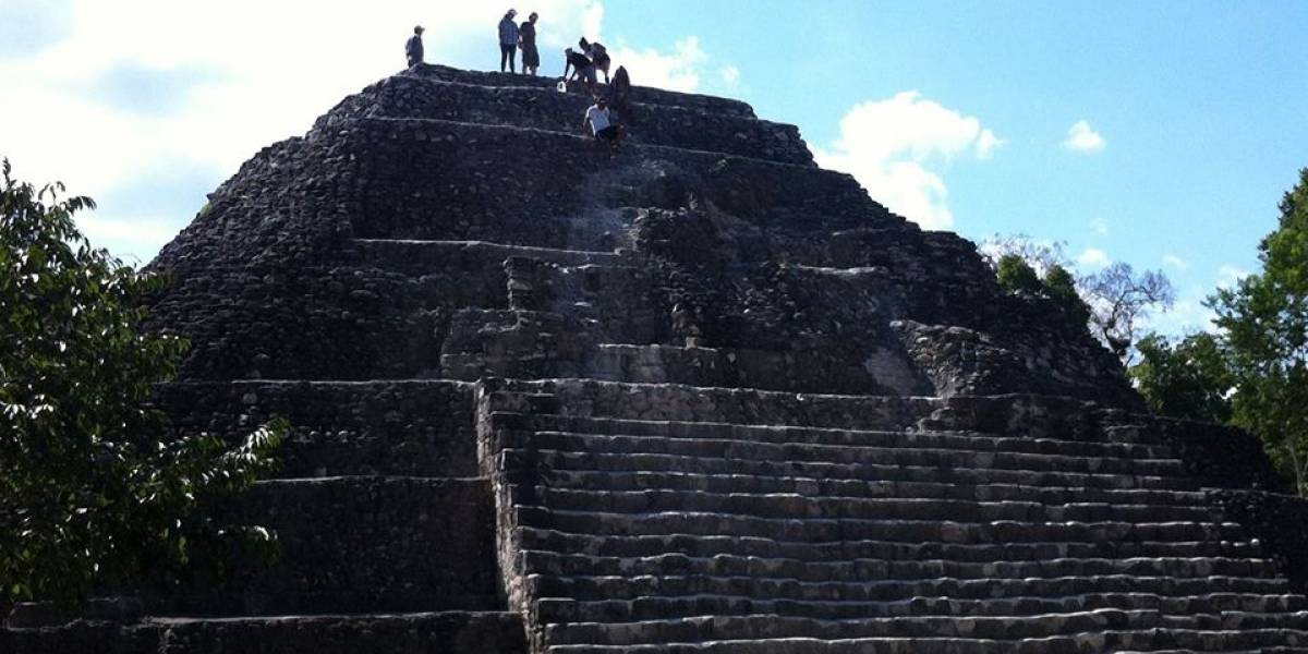 Restringirán temporalmente el ascenso a templo de Yaxhá