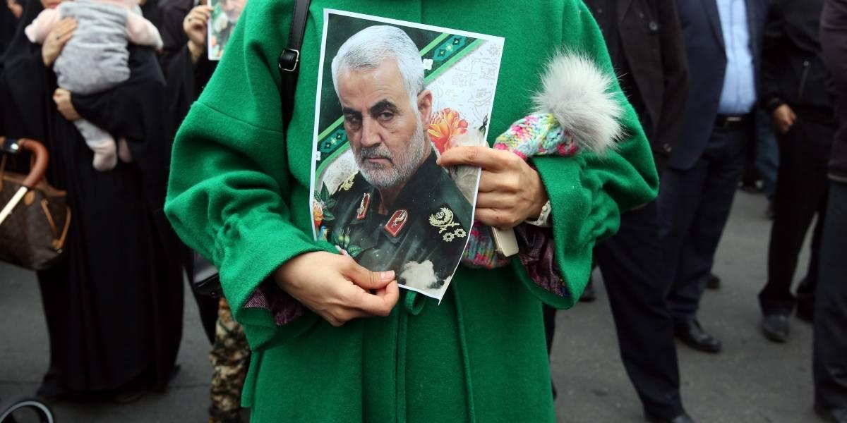 Irán advierte a Estados Unidos de repercusiones regionales por asesinato de Soleimaní