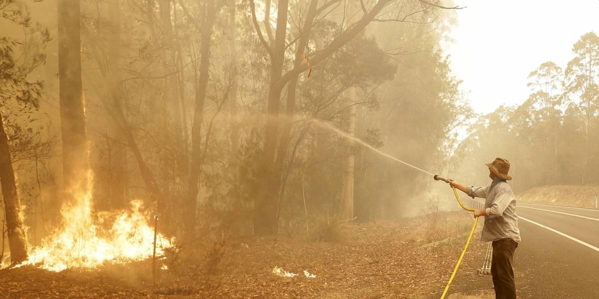 Australia llama a 3.000 reservistas por peligro de incendios