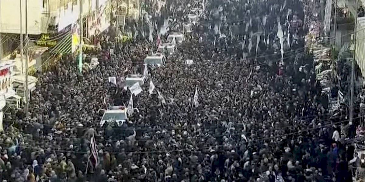 """""""Estados Unidos es el gran Satanás"""": despiden a general iraní muerto en ataque estadounidense"""