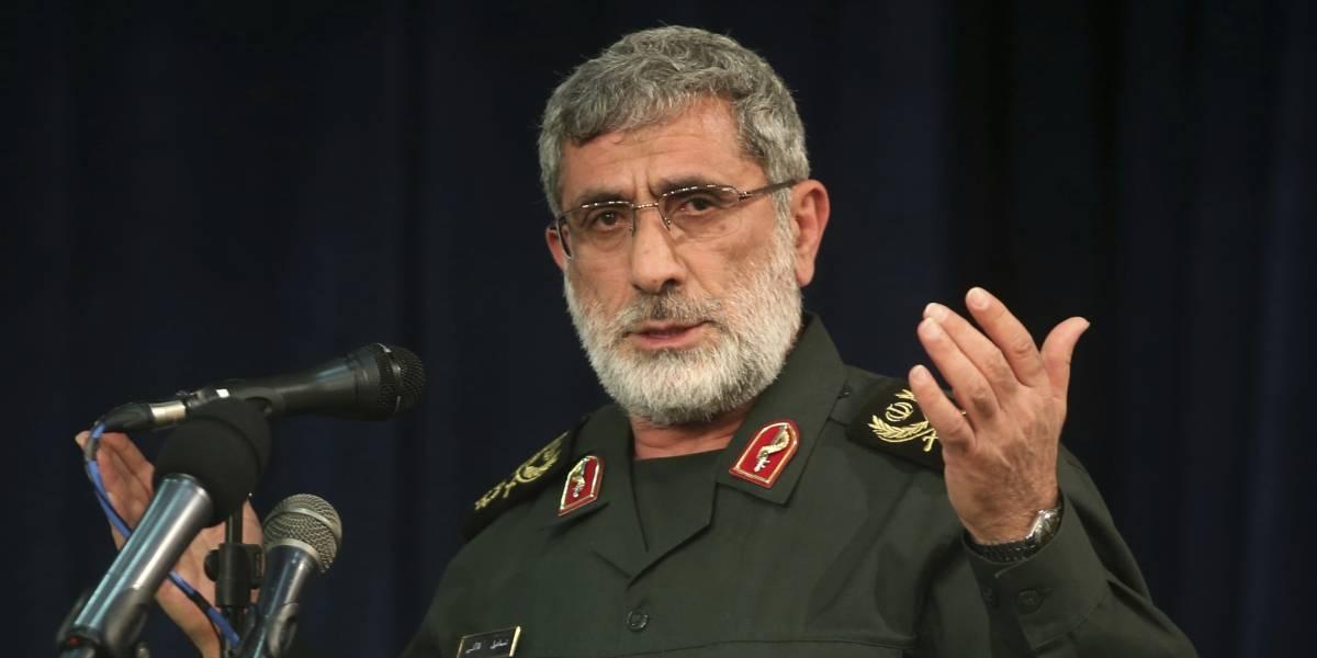 El General Esmail Ghaani es el relevo de Qassem Soleimani, asesinado por Estados Unidos
