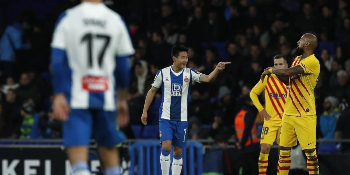 Empatan 2-2 el Barcelona y Espanyol